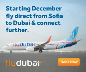 Web Banner design of FlyDubai for internet ad